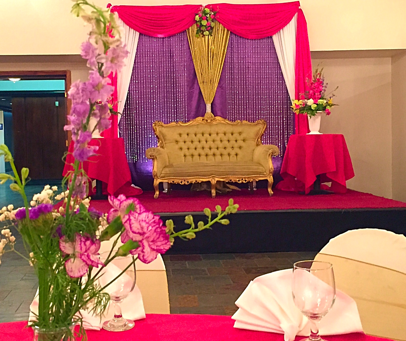 Dallas wedding event planner at your events decor dallas event backdrop bhibu brother junglespirit Image collections
