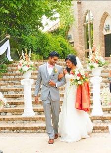Alfi and Lito wedding at Aristide Event Centre